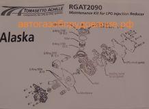 Ремкомплект впрыск TOMASETTO AT09 ALASKA ОРИГИНАЛ