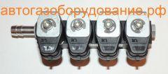 Рейка инжекторов Rail ig1 4 цилиндра