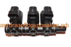 Рейка LOVATO Easy Fast  KP - 3 цилиндра 238607000